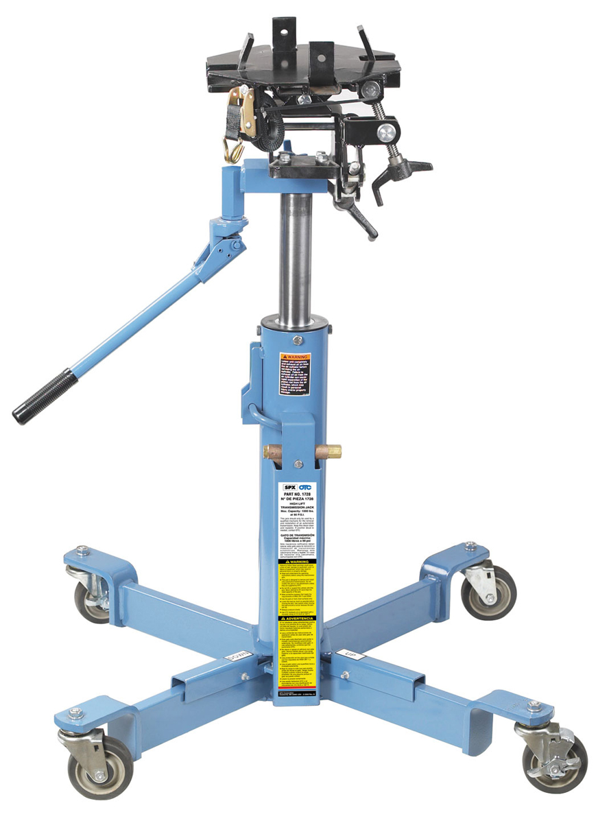 1 000 Lb Capacity High Lift Transmission Jack Otc Tools