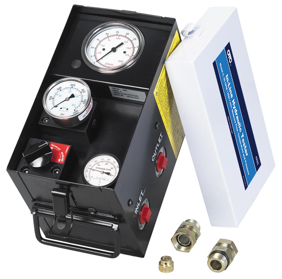 Hydraulic Flow Tester