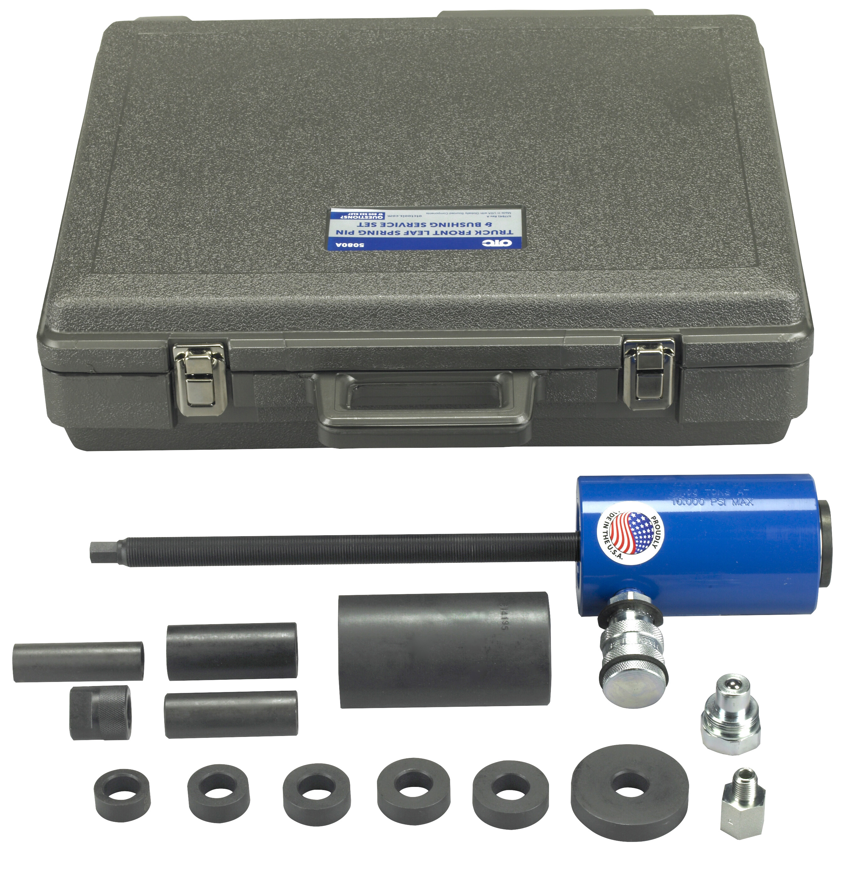 Truck Front Leaf Spring And Bushing Service Set Otc Tools