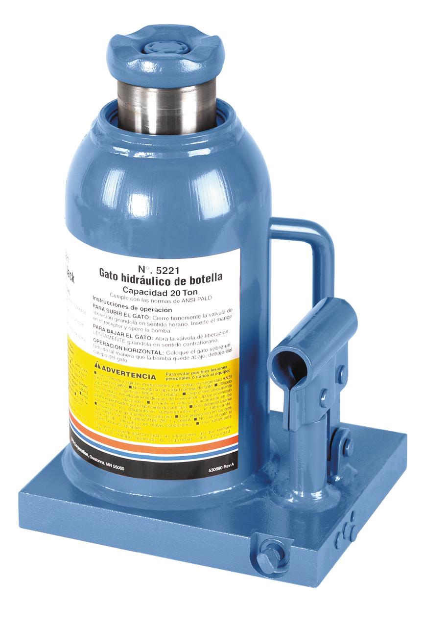 20-Ton Bottle Jack | 20-Ton Hydraulic Bottle Jack | OTC Tools