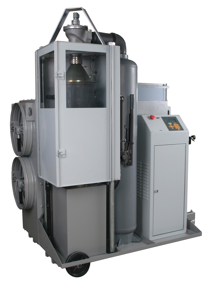 dpf filter cleaning machine