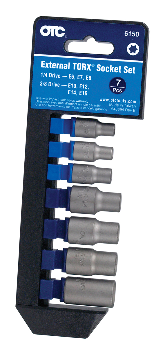 External TORX® Socket Set (7 Piece) | OTC Tools
