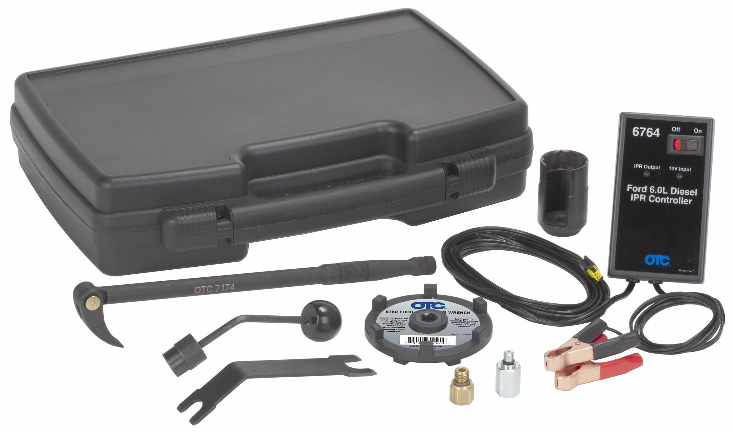 6770 ford 6 0l diesel service tool kit otc tools