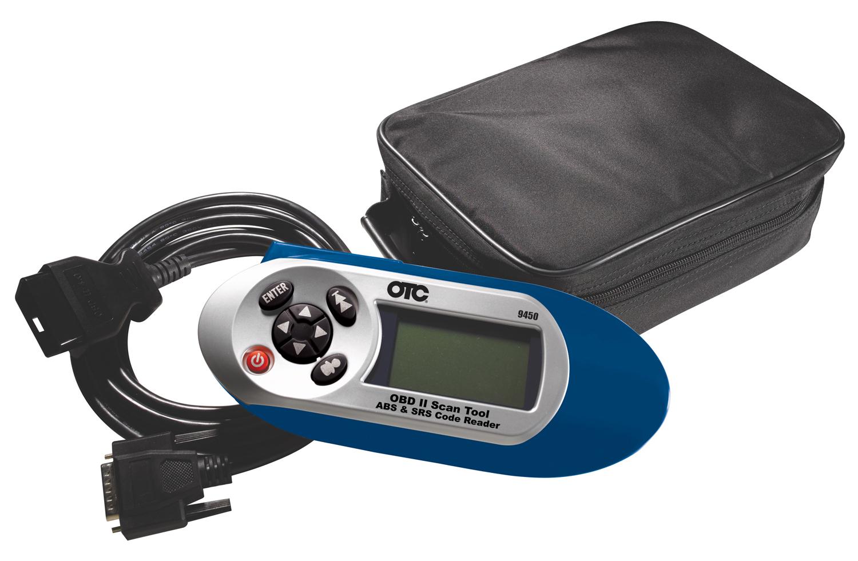 Bilingual OBD II Scan Tool, ABS & Airbag (SRS) Code Reader