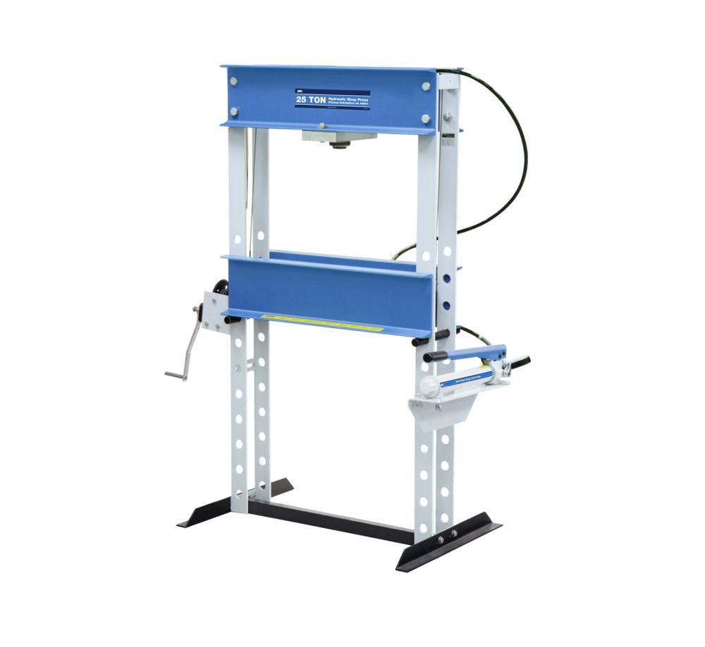 25 Ton Shop Press Otc Tools Hydraulic Wiring Diagram