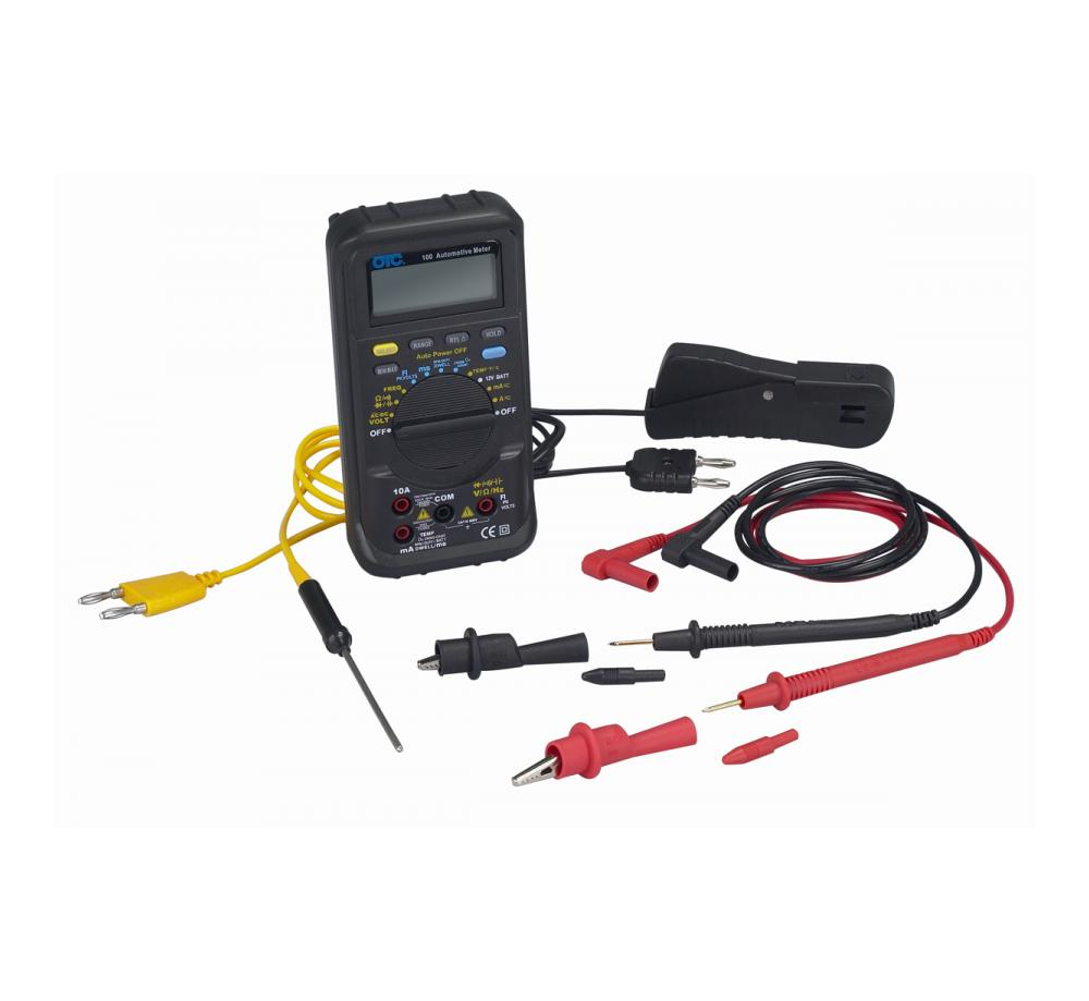 100 Series Auto-ranging Automotive Multimeter