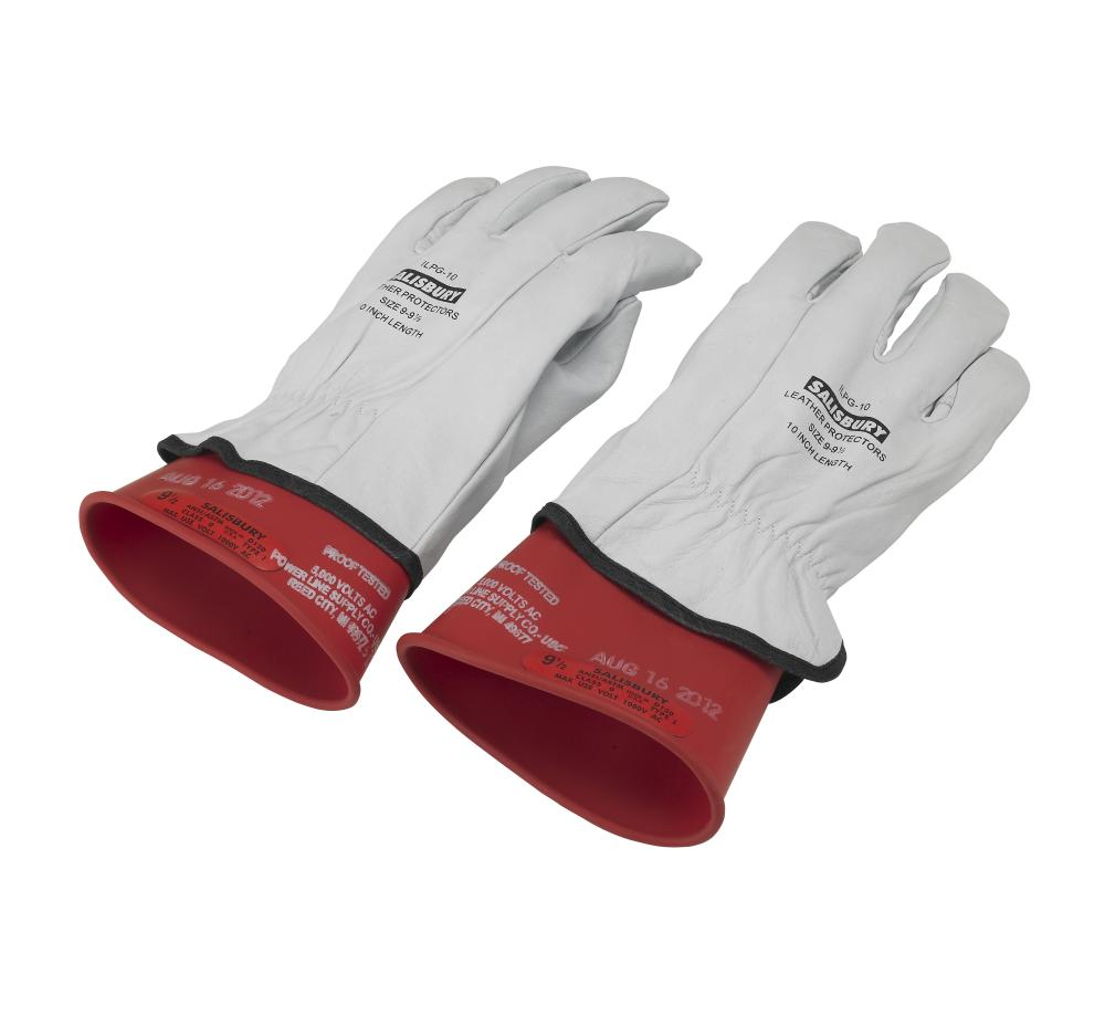 High Voltage Rubber Gloves : Hybrid high voltage safety gloves small otc tools