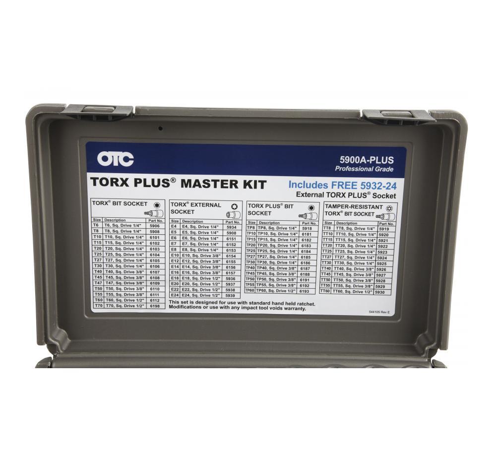 1//2 Square Drive T70 6198 OTC Standard TORX Socket