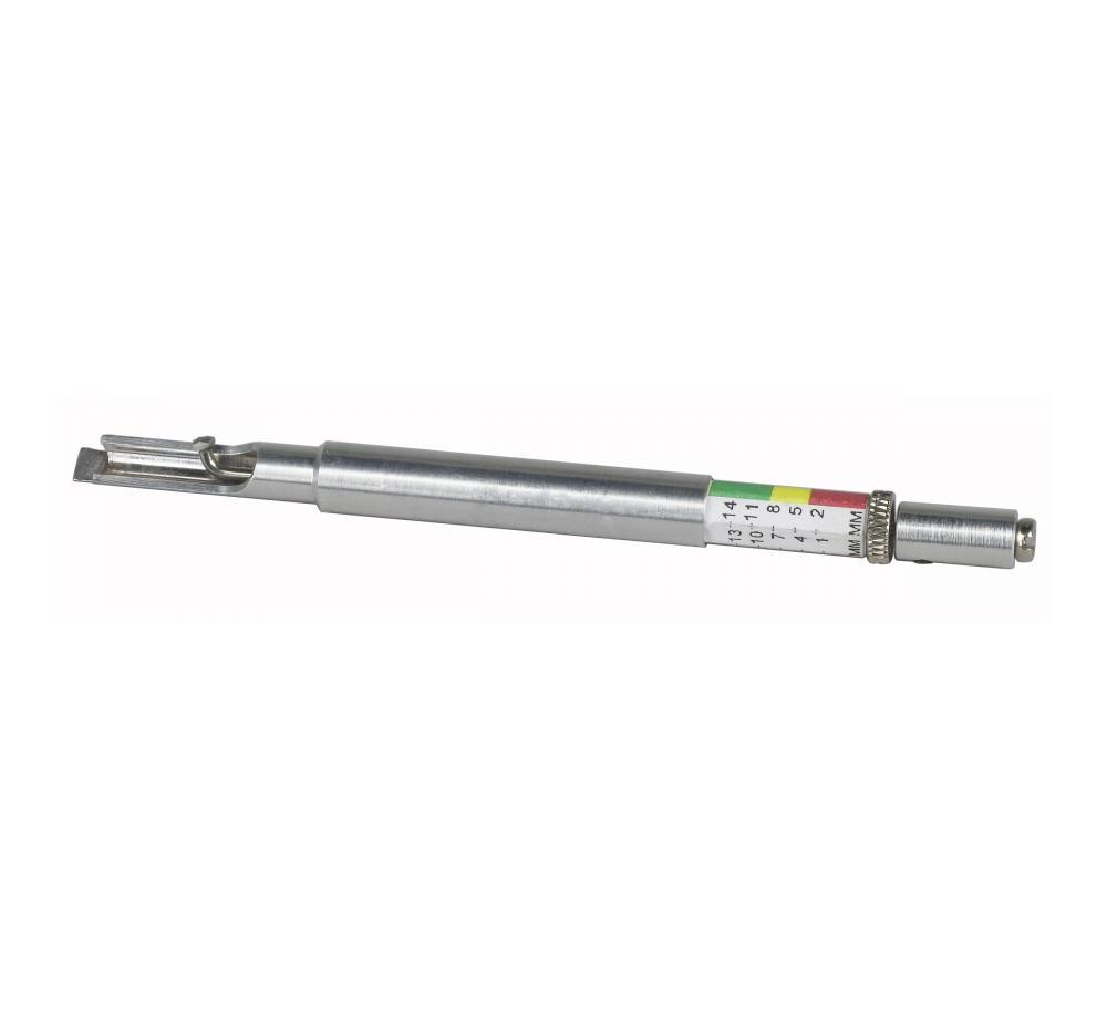 Brake Rotor Measuring Tool : Brake pad gauge otc tools